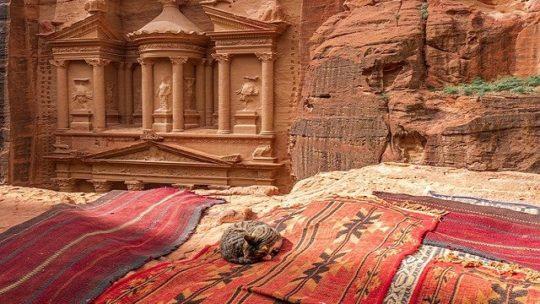 Découvrir Pétra, la « cité rose » de Jordanie